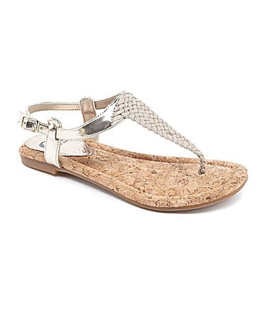 GB Gianni Bini Heat-Wave Braided Sandals