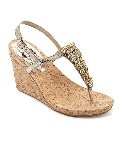 GB Gianni Bini Stand-Out Wedge Sandals