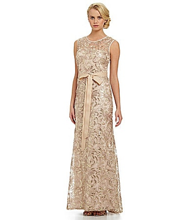 shop all betsy adam betsy adam lace sequin gown print wanelo tweet ...