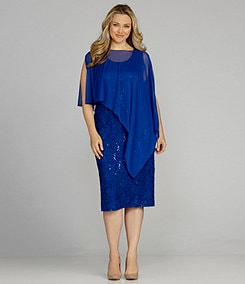 Plus-Size Mother-of-the-Bride Dress | ElegantPlus.com Editor's Pick Spring 2013, Sizes 16-24W