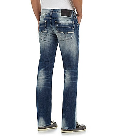 Buffalo David Bitton Six Lucas Slim Straight-Leg Jeans