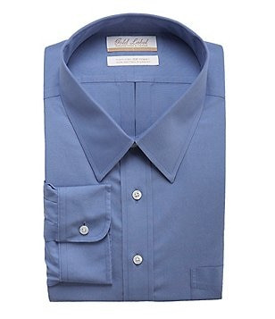 Gold Label Roundtree & Yorke Big & Tall Non-Iron Regular Full-Fit Point-Collar Dress Shirt