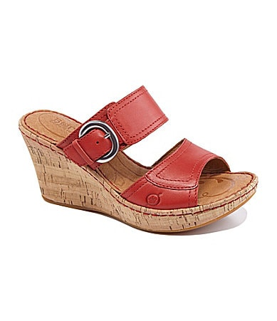 Born Women�s Gemala Wedge Sandals