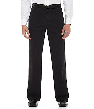 Calvin Klein Soft Wash Flat Front Chino Pants