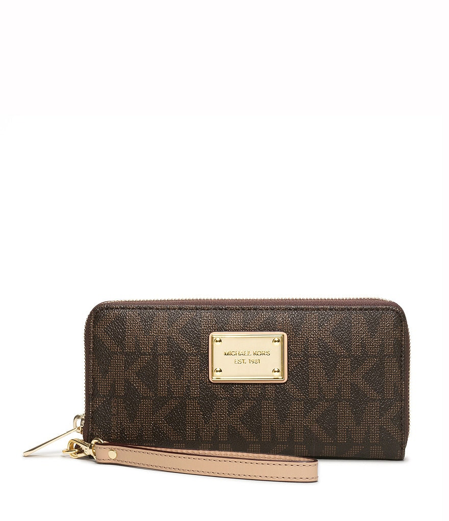 MICHAEL Michael Kors Signature iPhone Logo Continental Wallet