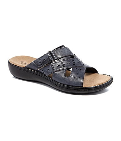 Clarks Lena Whisper Slide Sandals
