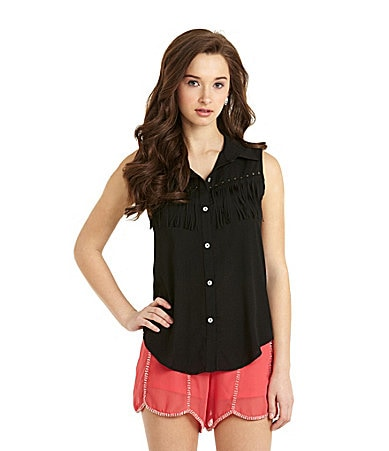 Living Doll Fringe Top