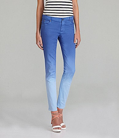 TWO by Vince Camuto 5-Pocket Ombre Skinny Jeans