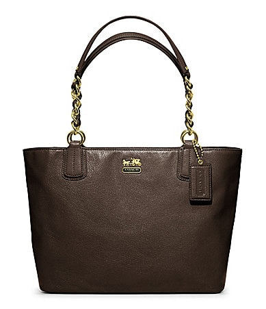 shop all coach coach madison leather tote