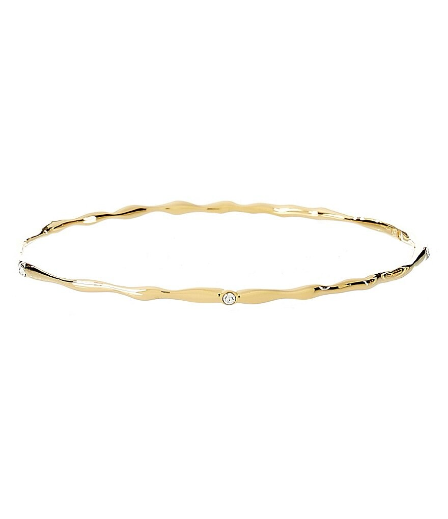 Nadri Thin Modulated Bangle