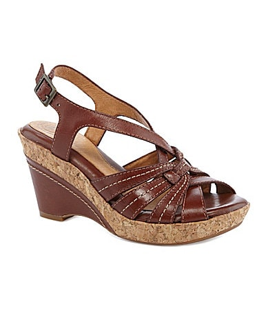 Nurture Logan Wedge Sandals