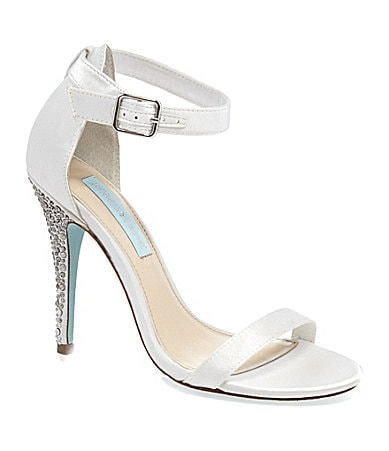 Blue by Betsey Johnson Bells Dress Sandals