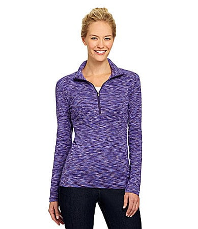Columbia Outerspaced Half-Zip Mockneck Top