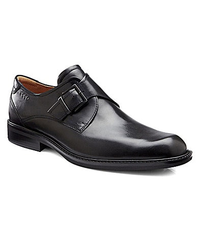 Ecco Men�s Windsor Monk-Strap Loafers