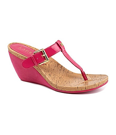 Lauren Ralph Lauren Roseanne Wedge Sandals