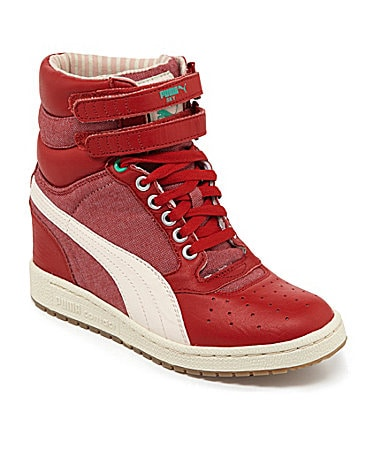 Puma Sky Wedge High-Top Wedge Sneakers
