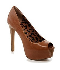 Jessica Simpson Carri Peep-Toe Pumps