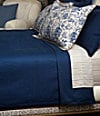 "108x90"" Blue King Coverlet"