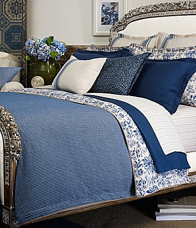 Ralph Lauren Bluff Point Bedding Collection