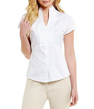 Antonio Melani Playing Favorites Tiffany V-Neck Blouse