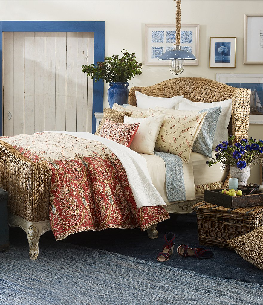 Ralph Lauren Mirabeau Paisley Bedding Collection
