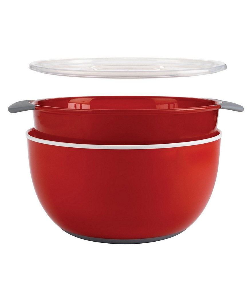 OXO 3-Piece Nesting Bowl & Colander Set