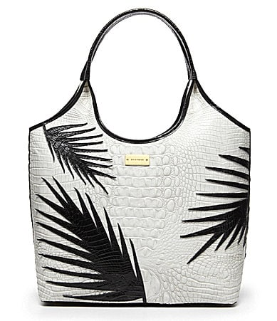Brahmin Fern Shopper Tote