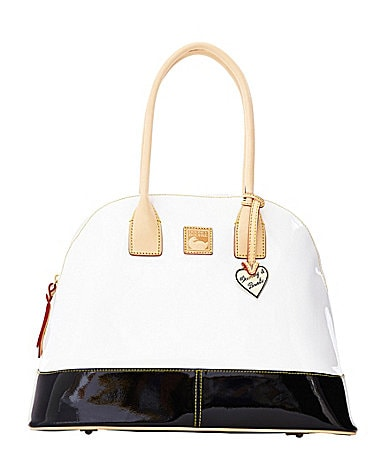 Dooney & Bourke Patent Domed Satchel
