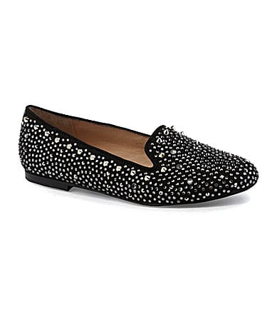 Steve Madden Graanite Studded Smoking Slippers