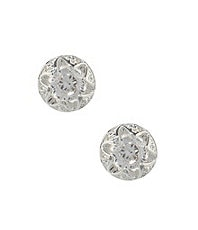 Dillard�s Boxed Collectin Openwork CZ Stud Earrings