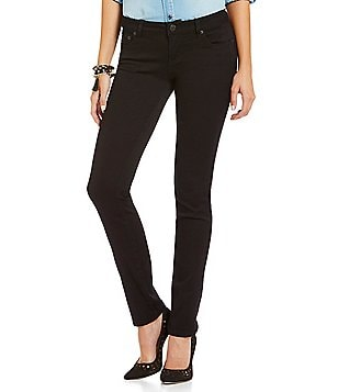 Celebrity Pink Mid-Rise Sateen Pants
