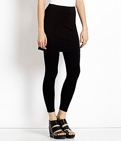 Eileen Fisher Skirted Ankle Leggings