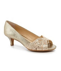 Alex Marie Symone Jeweled Dress Pumps