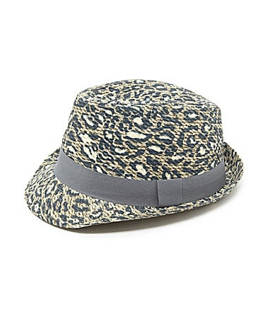 Dillard's Fedora http://www.dillards.com/product/Collection-18-Leopard-Print-Fedora_301_-1_301_503846388