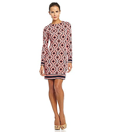 MICHAEL Michael Kors Argyle-Print Dress