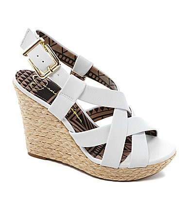 Jessica Simpson Catalina Espadrille Wedges