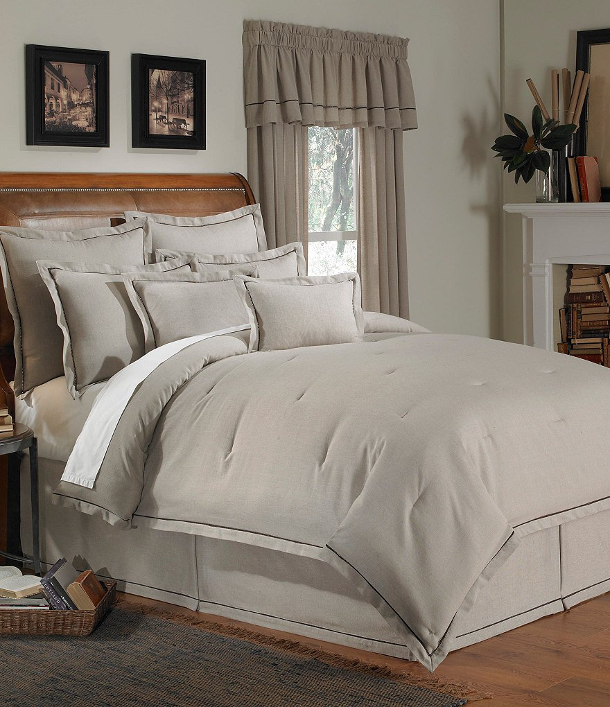 Cremieux Classic Hemstitch Bedding Collection