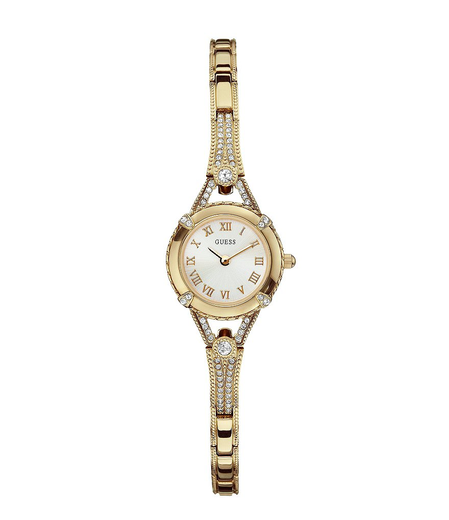 Guess Petite Goldtone Dress Watch