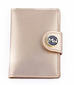 Mai Couture Dillard�s Exclusive 75th Anniversary Gold Papiers Wallet