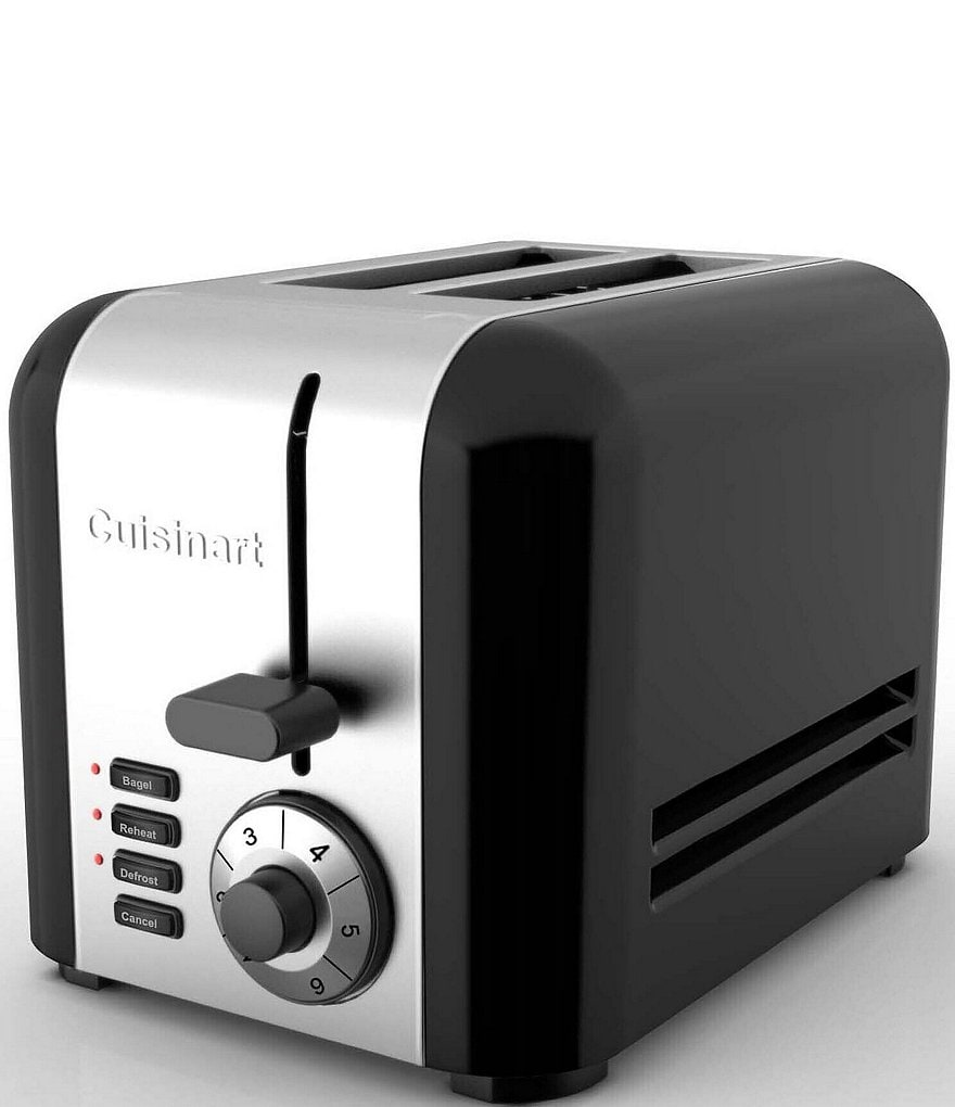 Cuisinart Stainless Steel & Black 2-Slice Toaster