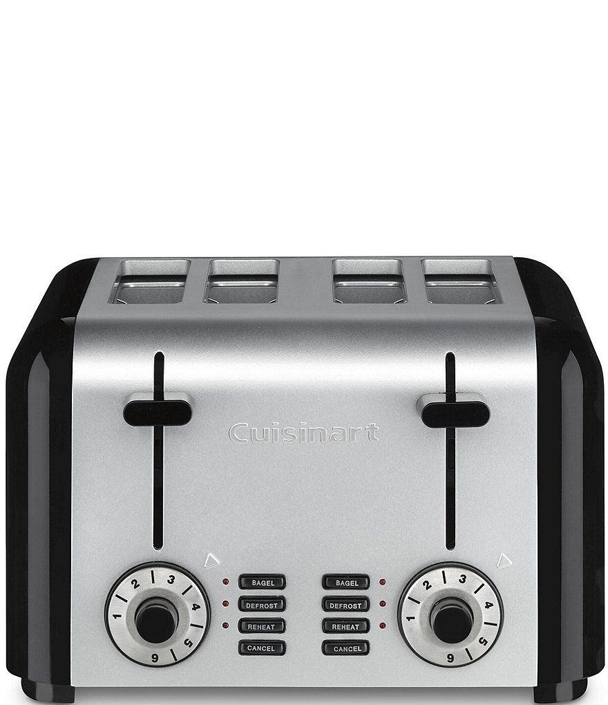 Cuisinart Stainless Steel & Black 4-Slice Toaster