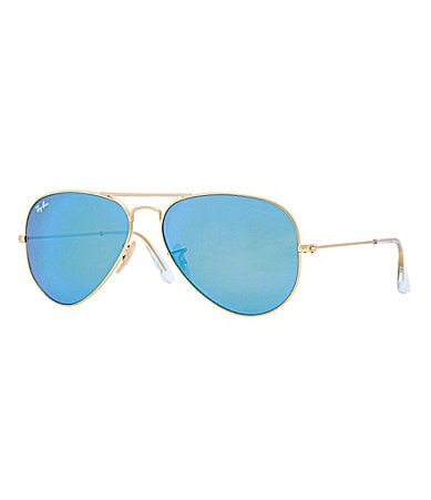 Ray-Ban Flash Lens Classic Aviator Sunglasses