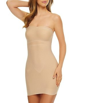 TC Fine Shapewear Just Enough Strapless Slip