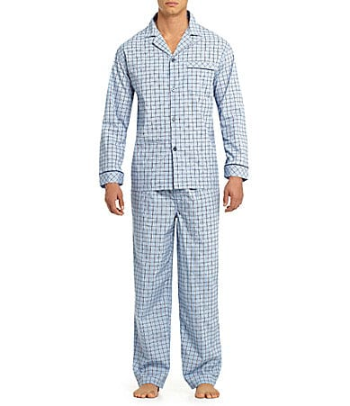 Roundtree & Yorke Big & Tall Pajama Set