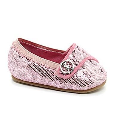 MICHAEL Michael Kors Infant Girls' Baby Grace Glitter Crib Shoes