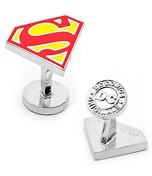 Cufflinks Inc. Superman Logo Cuff Links