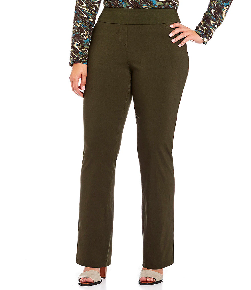 Westbound Plus the PARK AVE fit Classic Pull-On Pants