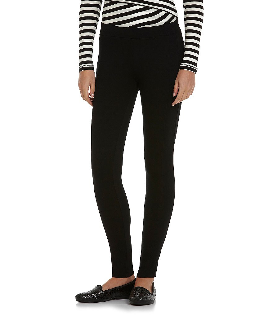 Calvin Klein Performance Slimming Long Seamed Ponte Stretch Leggings