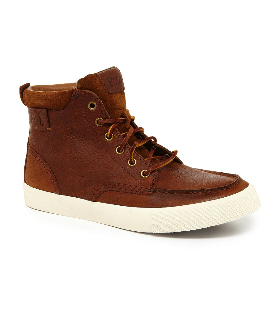 Polo Ralph Lauren Tedd Casual High-Top Sneakers