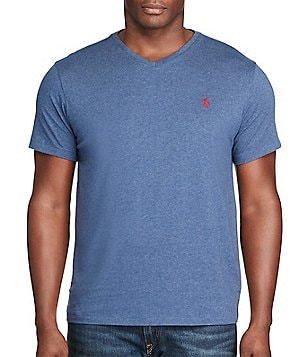 Polo Ralph Lauren Big \u0026amp; Tall Classic-Fit Short-Sleeve Cotton Jersey V-